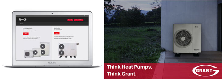 Grant Launches Dedicated Aerona3 Air Source Heat Pump Website