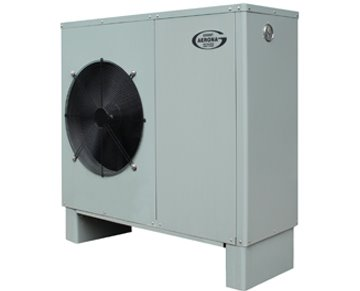 Our first generation of air to water heat pump launches, the Grant Aerona range.