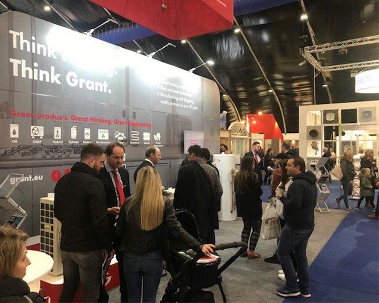 Showcasing innovative technology at our first trade show of 2020 – Self Build Live, Belfast