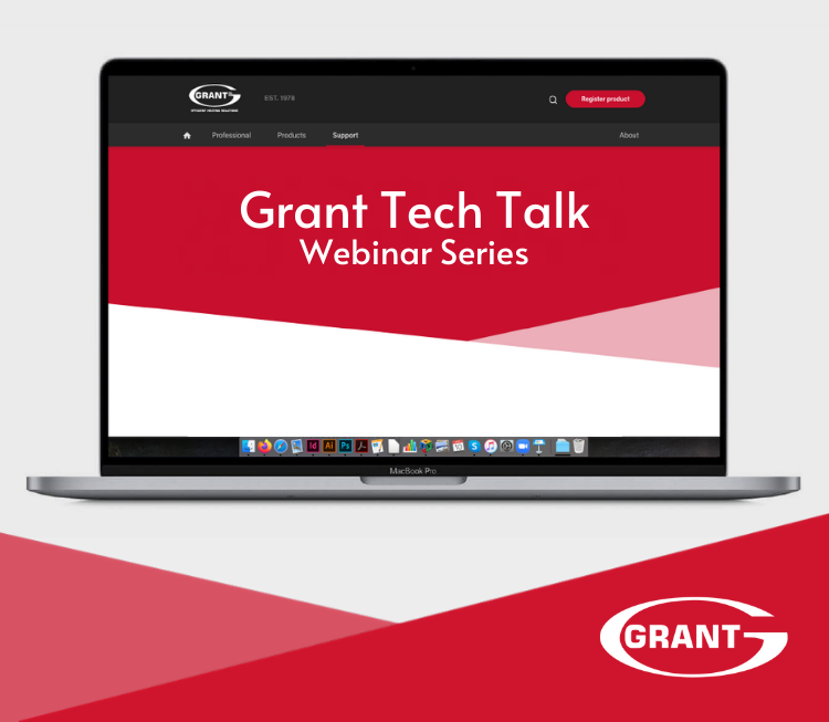Grant Tech Talk webinar series launched